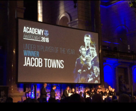 Jacob Towns wins Everton Under 11 Player of the Year