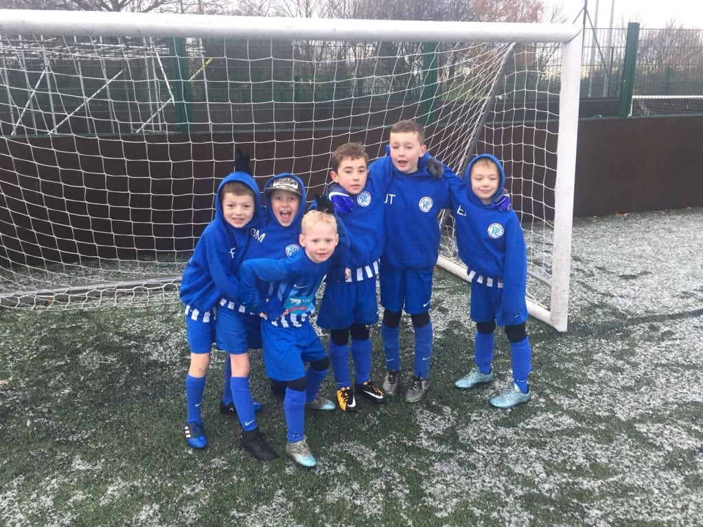 U8 Cyclones @ Woodley Winter Wonderland